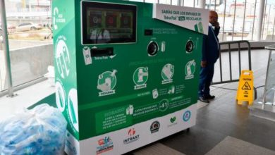 Photo of Instalan máquina en estación del Metro para reciclar residuos