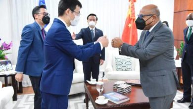 Photo of Alfredo Pacheco recibe visita del embajador de China en el país