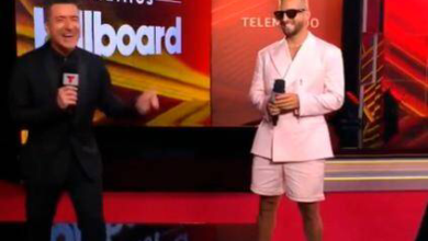 Photo of Maluma inaugura Premios Billboard Latinos, artistas usan tapabocas