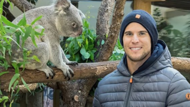 Photo of Dominic Thiem apadrina al primer koala nacido en el zoo de Viena