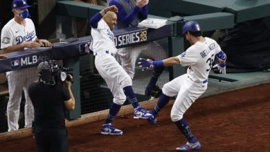 Photo of VIDEOS: Dodgers dan primera estocada a Rays, con pitcheo de Kershaw y ofensiva de Bellinger