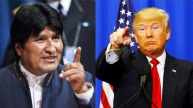 "Photo of Evo Morales: ""Si pierde Trump, yo festejaré"""