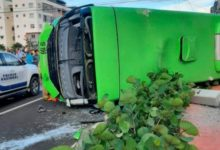 Photo of Así ocurrió accidente en que murió chofer OMSA en Ciudad Juan Bosch