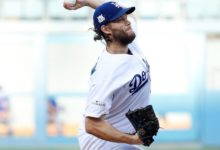 Photo of Clayton Kershaw arriba a los 200 ponches en postemporada