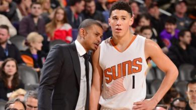 "Photo of Earl Watson dice que ""pensaban que estaba loco"" cuando colocó a Booker de titular"