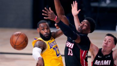 Photo of Los Lakers le pasaron por encima a Heat y lo superan 116-98