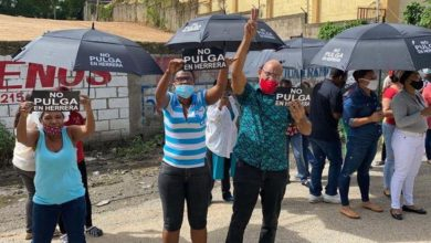 Photo of (VIDEO) Protestan en Herrera en contra mercado de La Pulga; el Codessd mediará para buscar solución