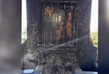 Photo of Se incendia la ermita del santuario de la virgen María en Restauración