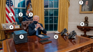 Photo of Los simbolismos de la nueva Oficina Oval del presidente Joe Biden