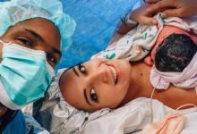 Photo of FOTOS: Amelia Vega y Al Horford con Nova, su cuarto bebé