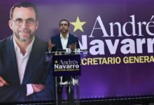 Photo of Andrés Navarro presenta candidatura para la secretaría general del PLD