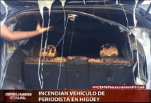Photo of Incendian vehículo de periodista en Higüey
