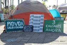 Photo of Activistas a favor de tres causales instalan campamento en Santo Domingo
